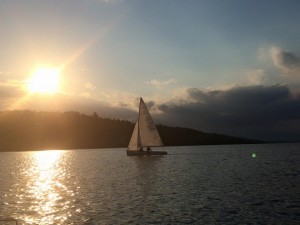 Social Sailing on Friday Evening